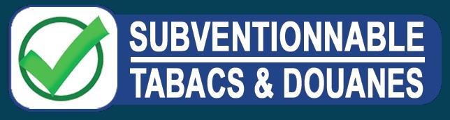 logo subventionnable tabacs et douanes