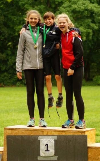 CSC Winner Team Jugend: Lea Hardt & Tira, Yara Rudolph & Paul, Emily Westenberger & Balu