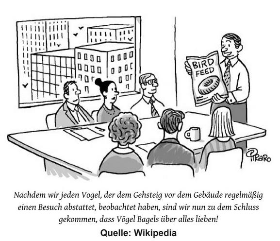 """Illustration von Piraro aus """"Kritisch Denken im Zeitalter der Lügen"""""""