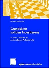 Kurzvorstellung Grundsätze soliden Investierens