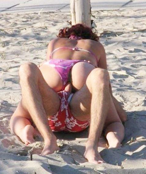 scopata alla spiaggia