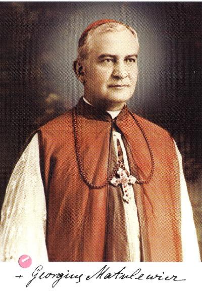 Portrait von Georg Matulaitis