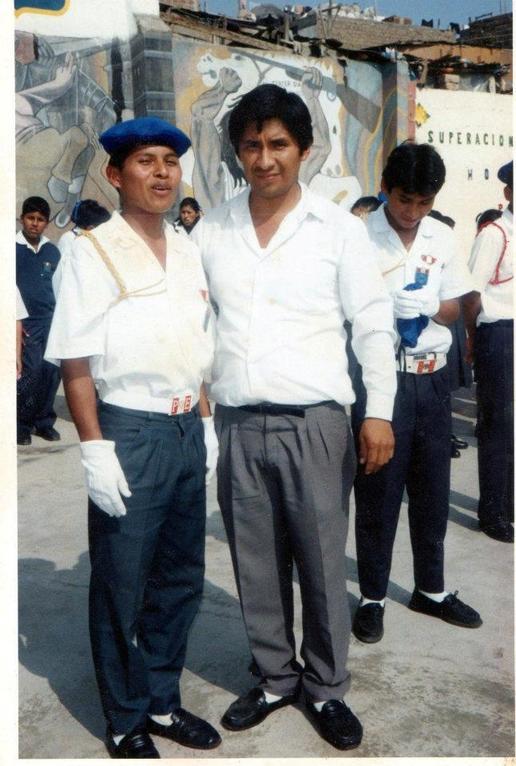 Nilo y prof. Manuel