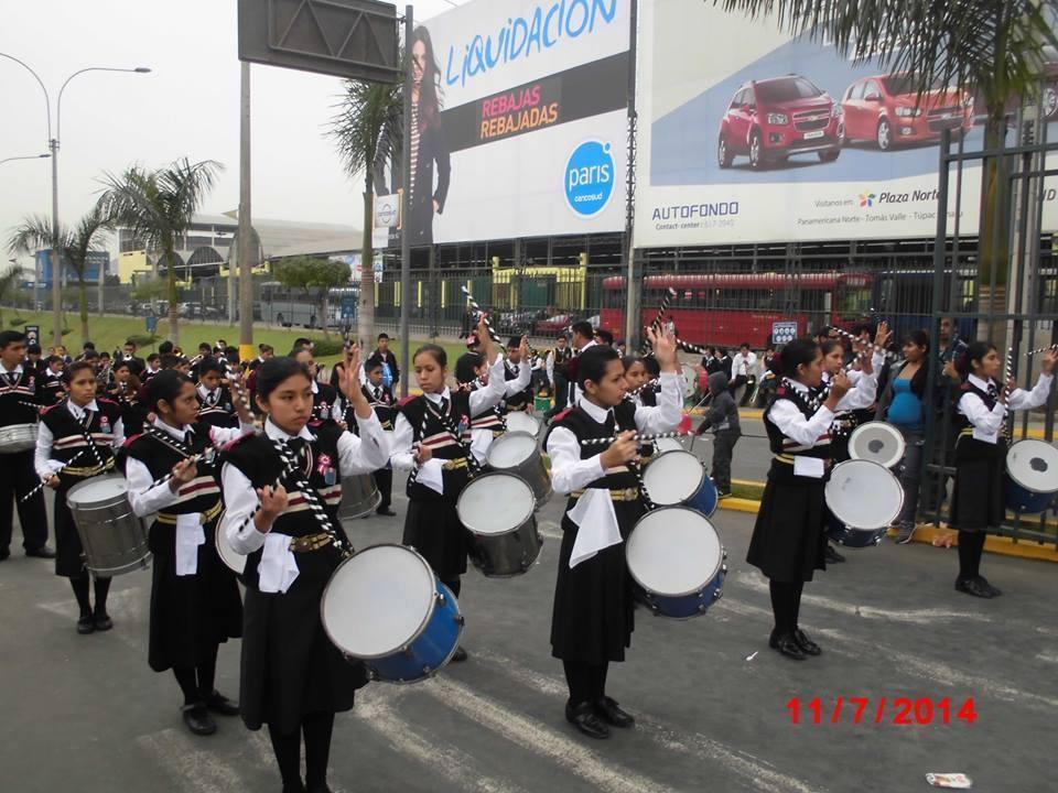 la banda - desfile 2014