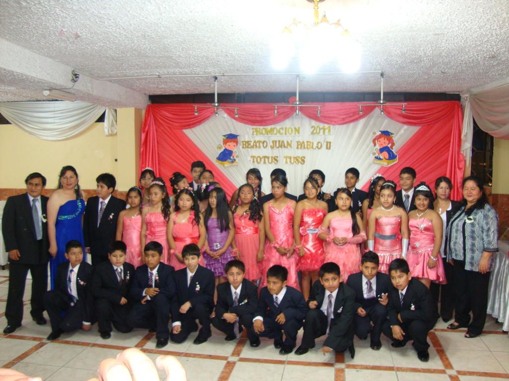 """promoción del 6º """"B"""" 2011"""