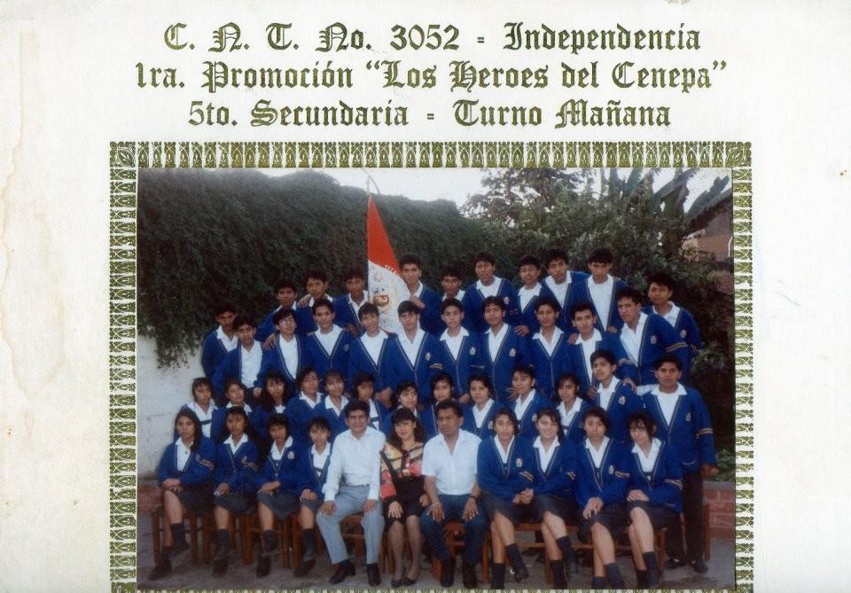 """Promoción - 1995 """"Heroes de cenepa"""""""