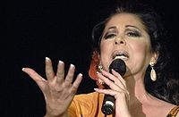 Isabel Pantoja, cantante.