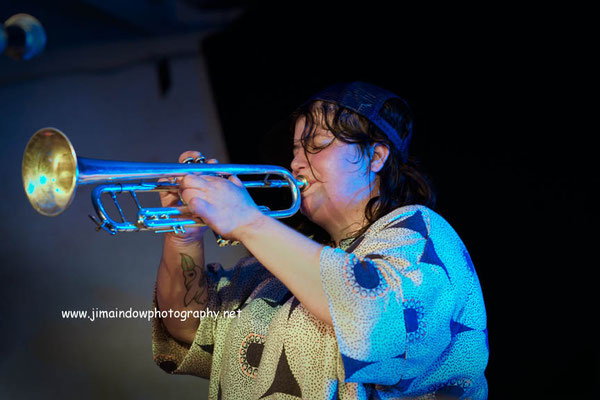 Trumpeter Jaimie Branch\Fly Or Die, ChicagoXLondon, Total Refreshment Centre, 18.10.17