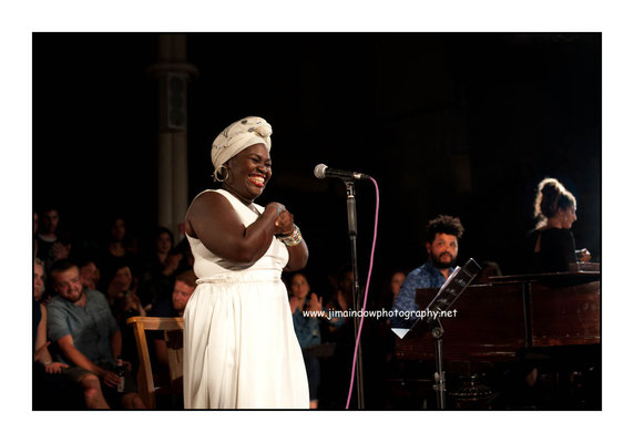 Dayme Arocena at the Church of Sound. 13.7.16