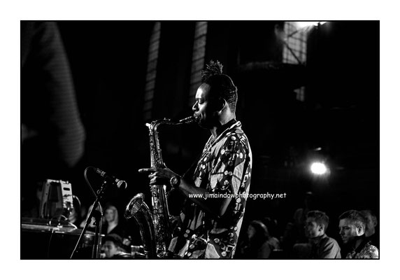 Shabaka Hutchings at the Church of Sound. 13.7.16