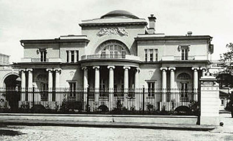 дом Второвых в Спасопесковском переулке