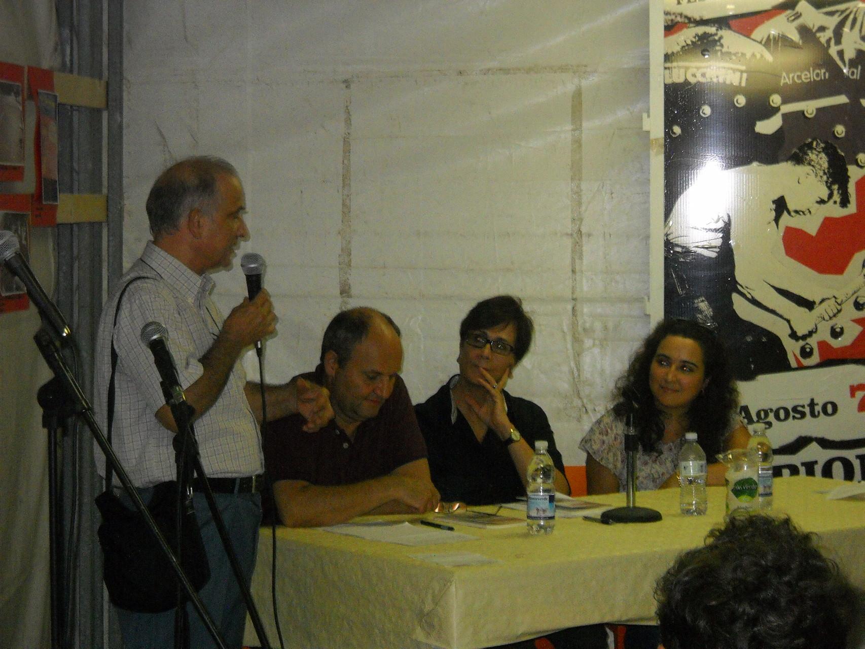 L'intervento della casa editrice La Bancarella Editrice.