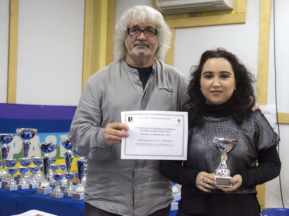 MENZIONE DI MERITO SEZIONE SILLOGE FRANCESCA GHIRIBELLI