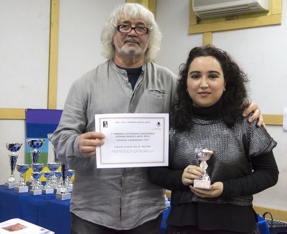 MENZIONE D'ONORE SEZIONE NARRATIVA FRANCESCA GHIRIBELLI