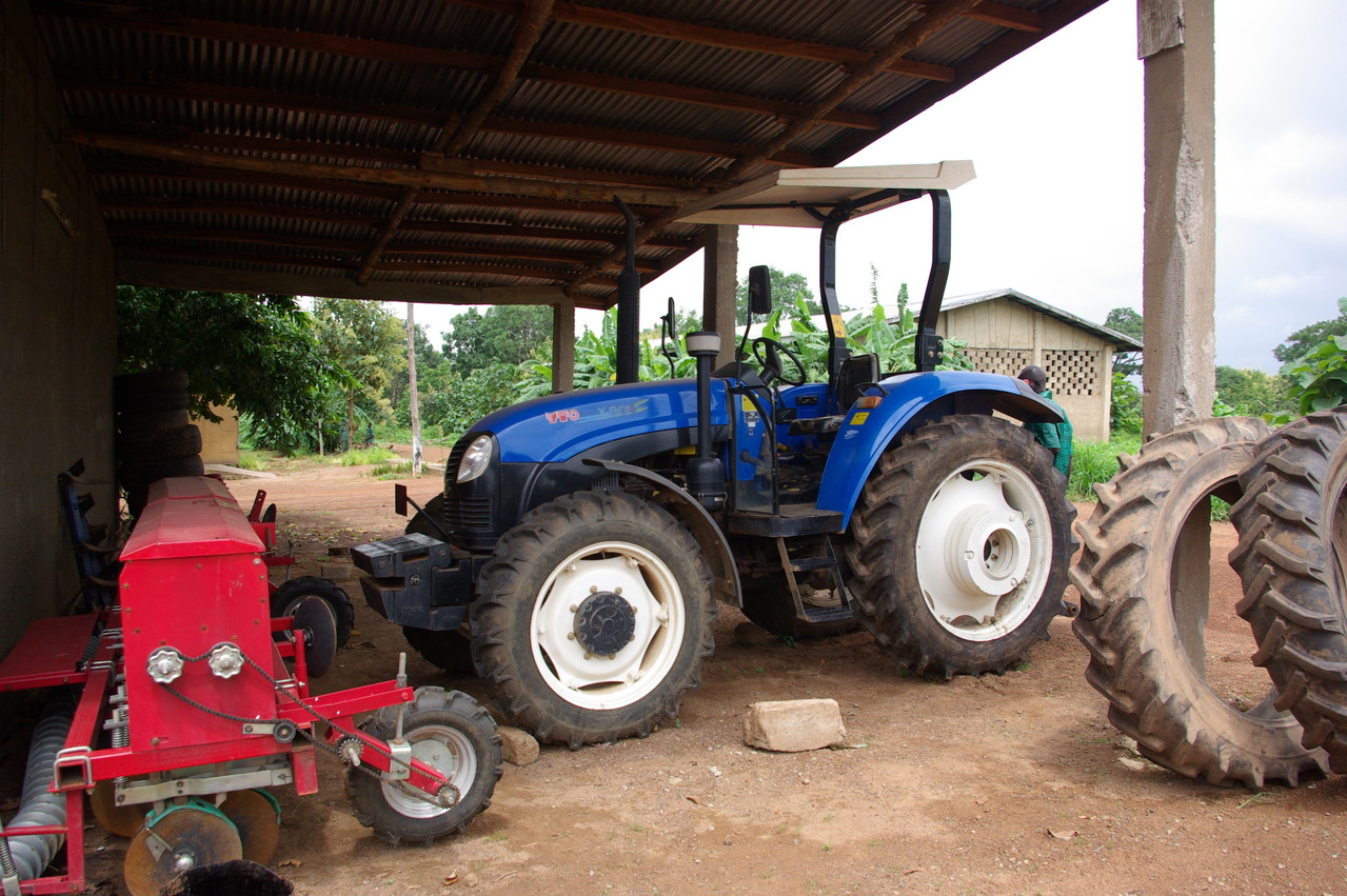 Tracteur chinois