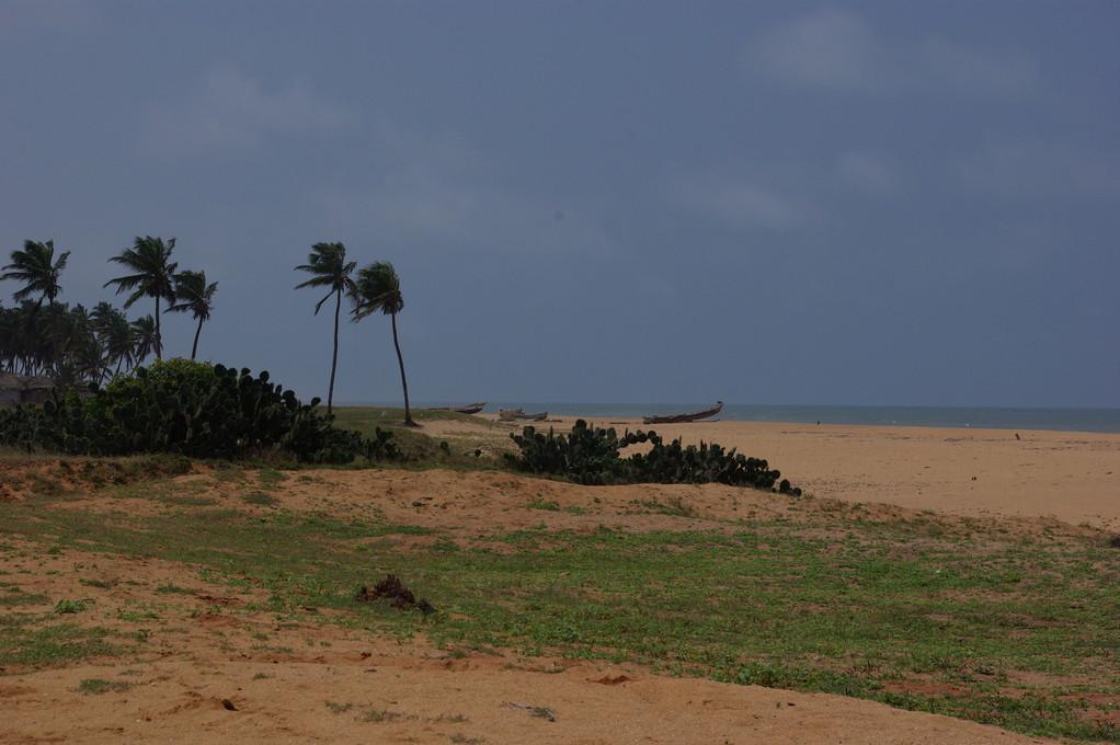 Route des pêches entre Cotonou et Ouidah