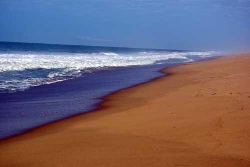 La plage à Ouidah