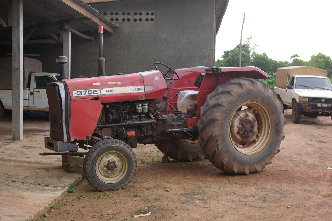 Un tracteur chinois