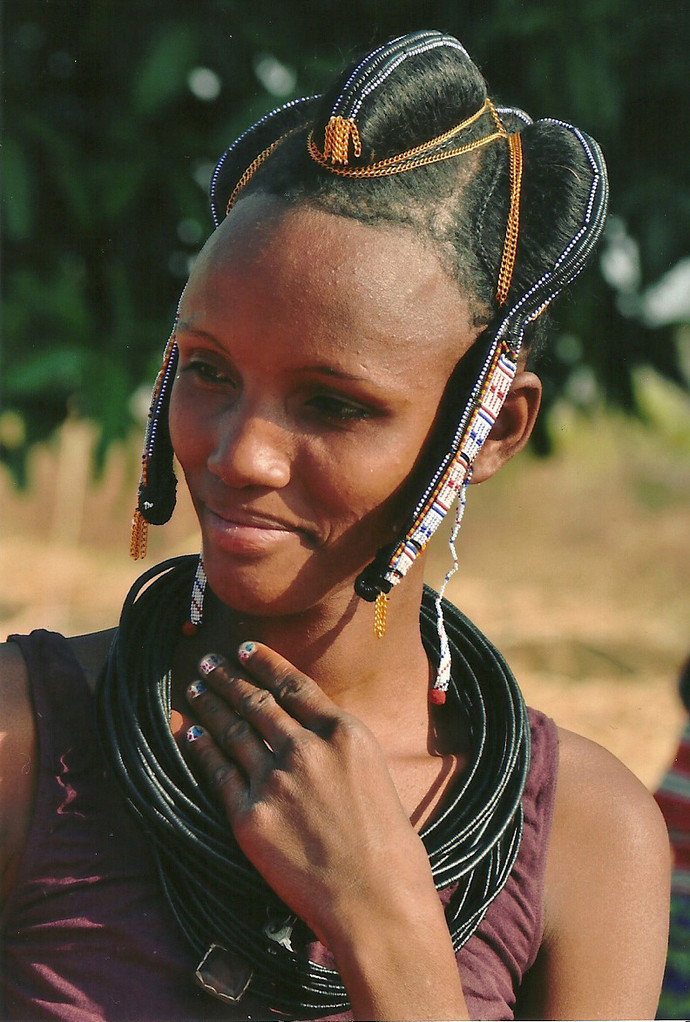 Une femme Peul