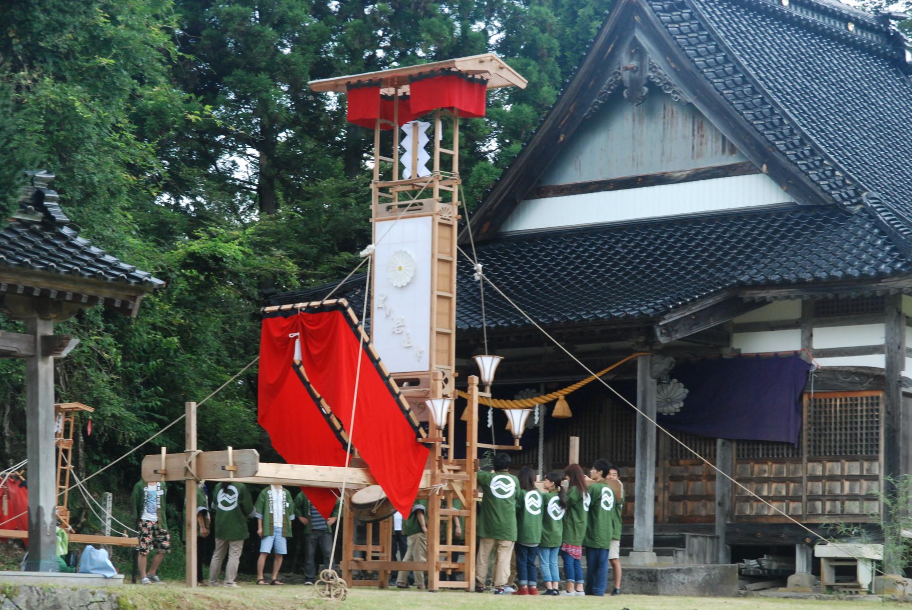 能登 里山体験 秋祭り