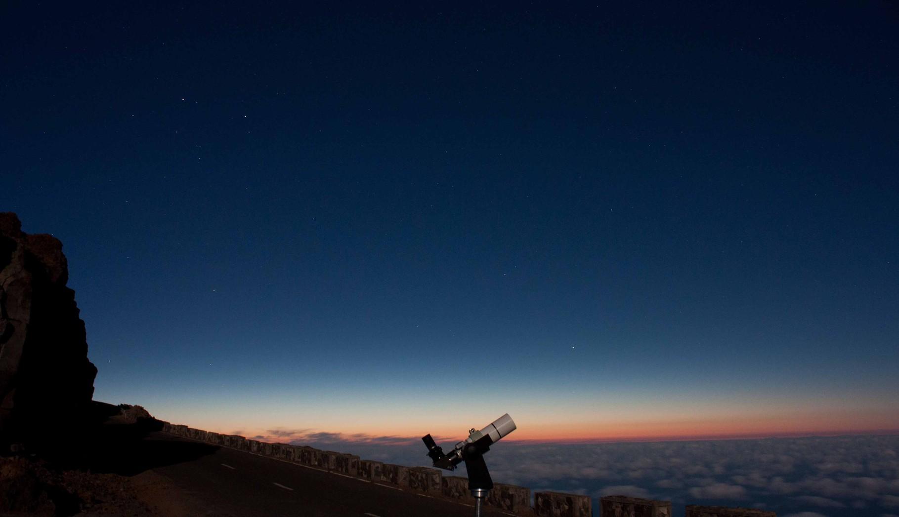 """""""Astro im Urlaub"""" Der Roque de los Muchachos auf La Palma"""
