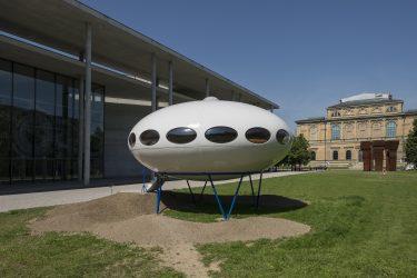 Foto: FUTURO Haus. Die Neue Sammlung – The Design Museum © Jörg Koopmann. Courtesy : Die Neue Sammlung München.