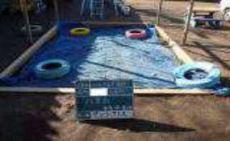 幼稚園砂場