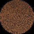 Morceaux de cuir de vachette nubuck