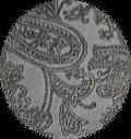 Morceaux de cuir de vachette imprimée