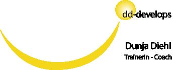 Logo dd-develops Dunja Diehl - Business Coaching