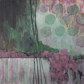 Stillleben Frühjahr | 80x80 | 2018