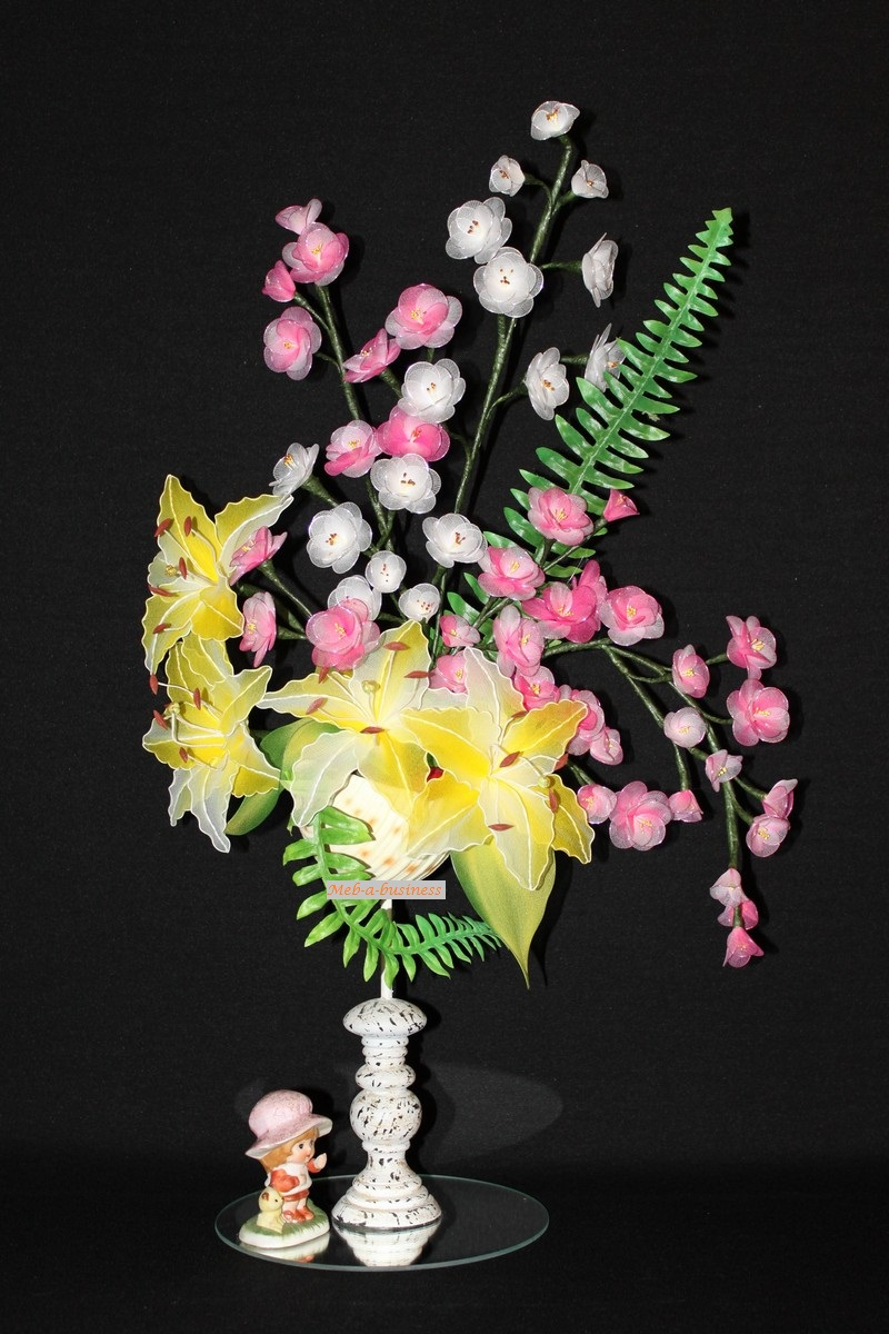 Lys,Fleur de Cerisier