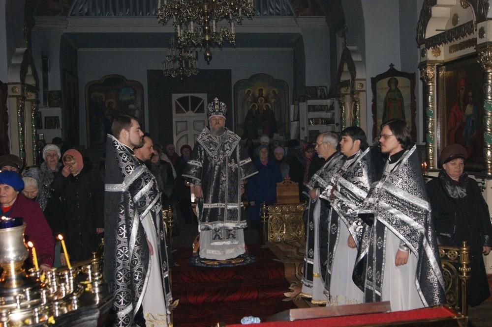 Литургия Преждеосвященных Даров (22.03.2013)