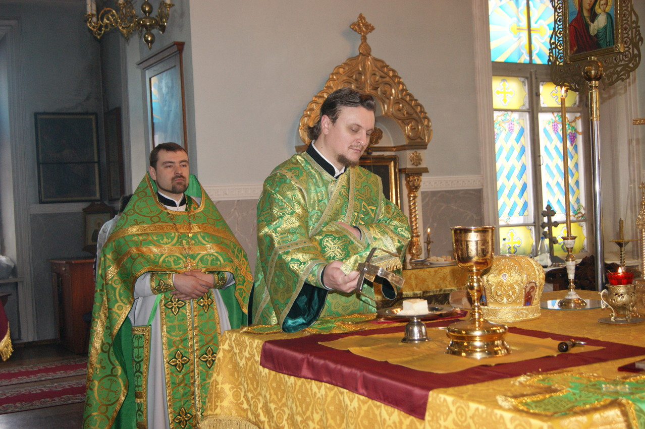 Миссионерская Божественная литургия (16.03.2013)