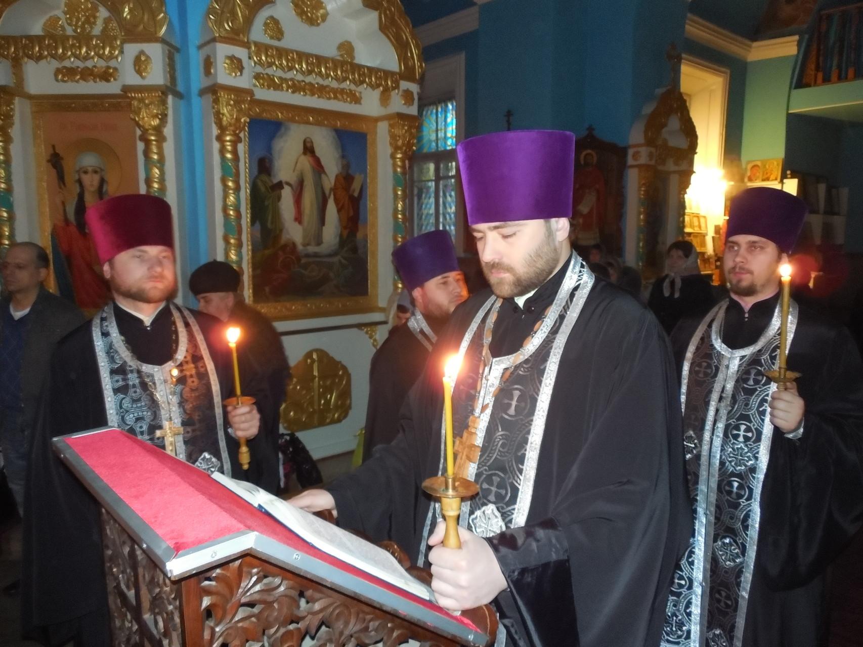 Великий покаянный канон прп. Андрея Критского (5 марта 2014 г.)