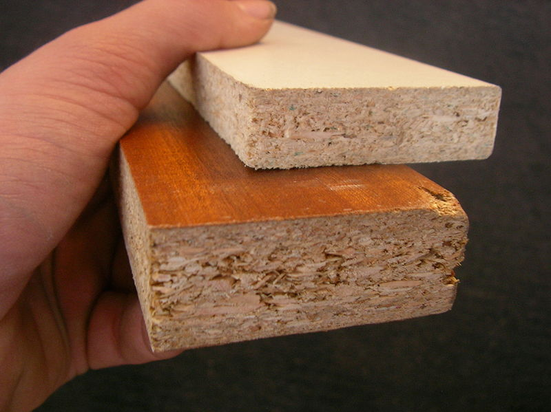 TRUCIOLATO (IT) o PARTICLEBOARD (EN)  by: Rotor DB, CC BY-SA 3.0