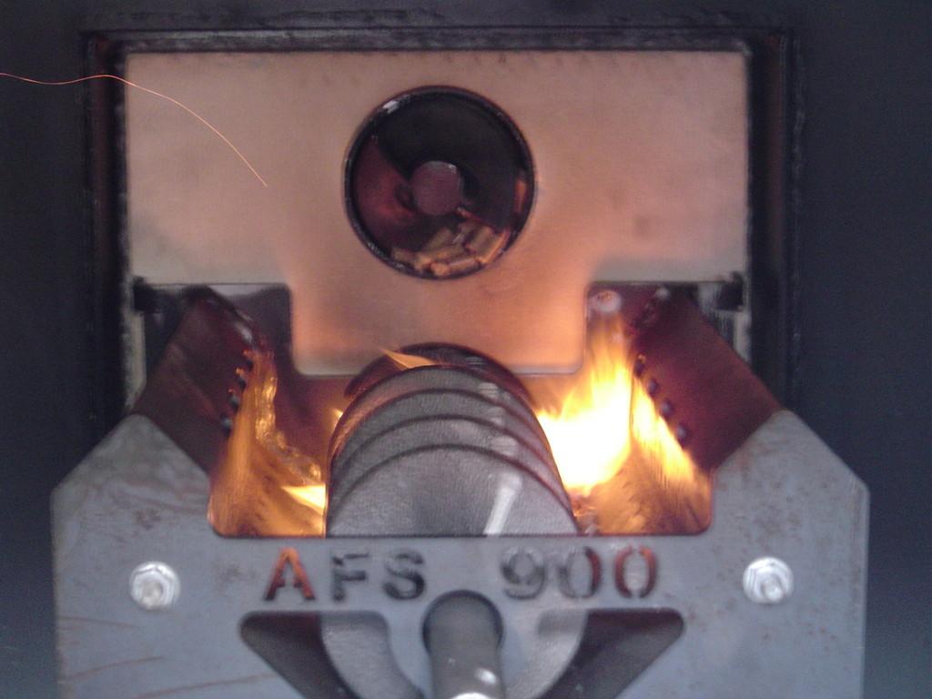 ウッドマスター燃焼