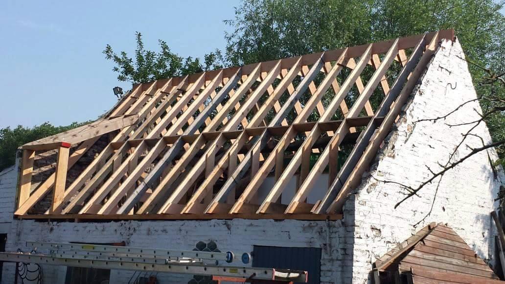Opbouw of vernieuwing houtstructuur