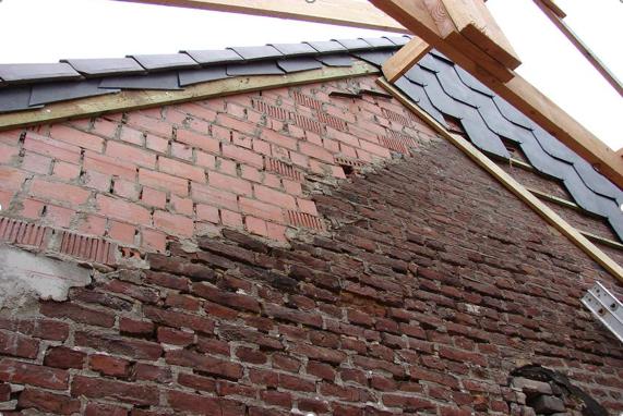 Opbouw en renovatie van gevels