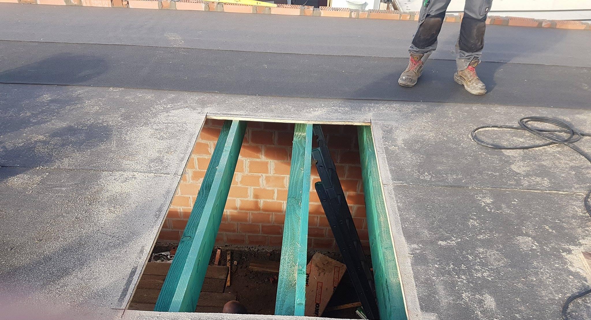 Opbouw of vernieuwing dakstructuur