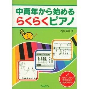 テキスト「中高年から始めるらくらくピアノ 光畑浩美著」を使用いたします。