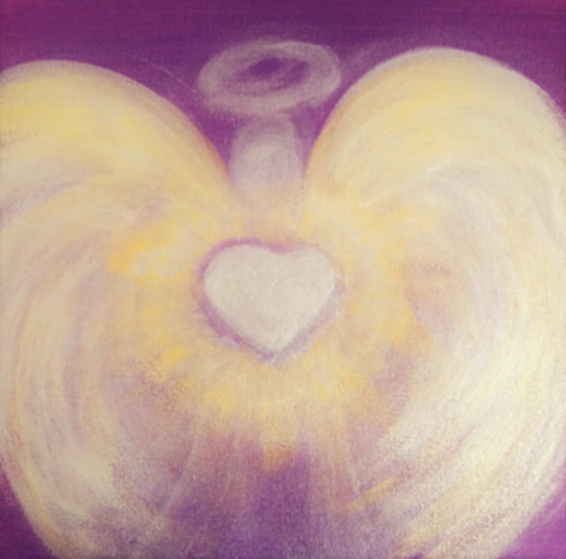 """""""Transformation durch Liebe""""  30x30,  230.-"""