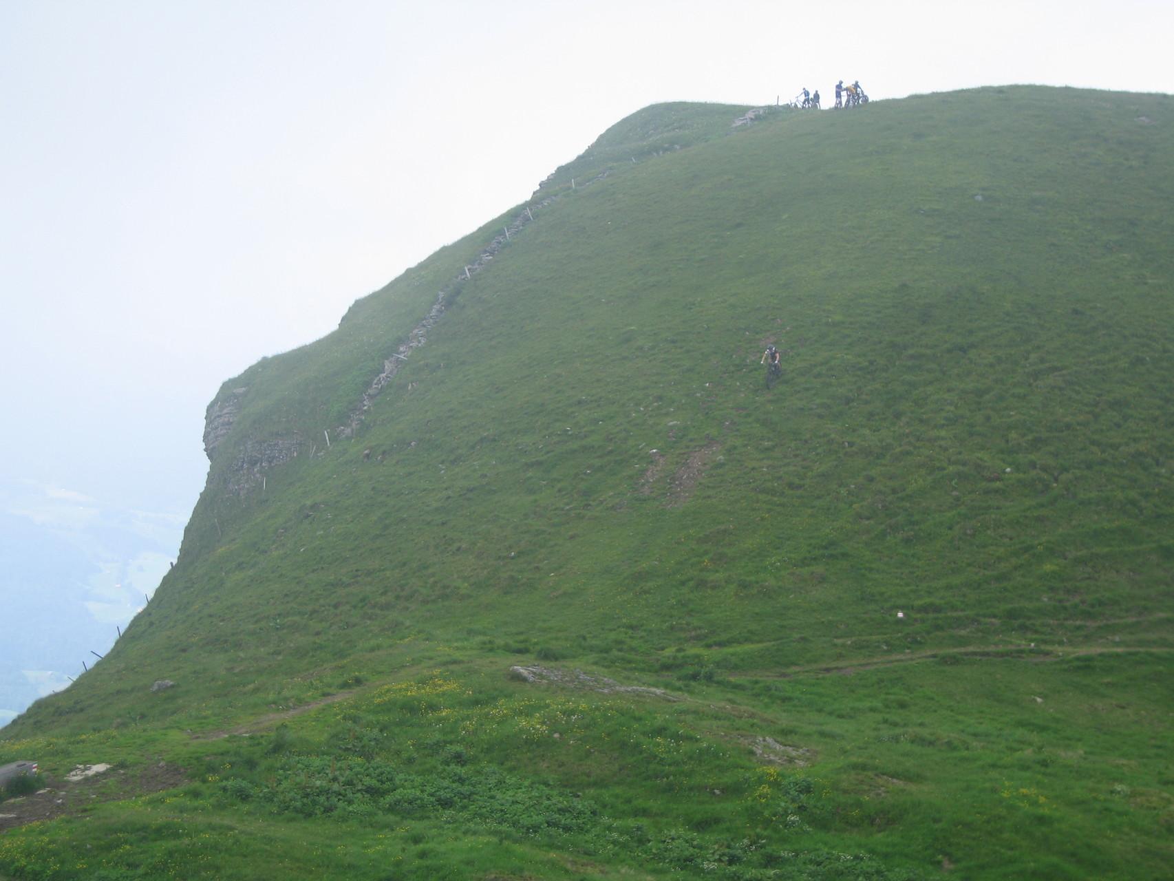 Und nun 1500 hm Downhill und Singletrail vom feinsten