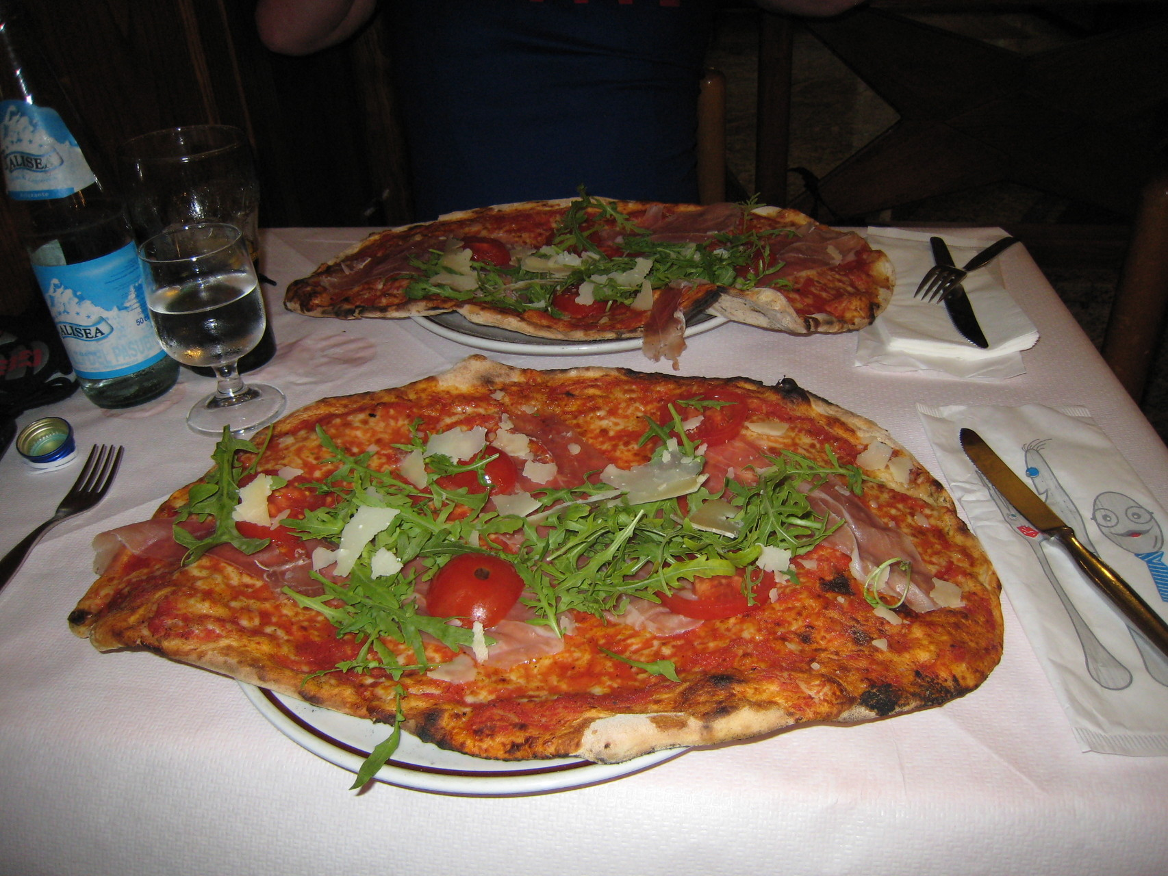 Monsterpizza in Riva