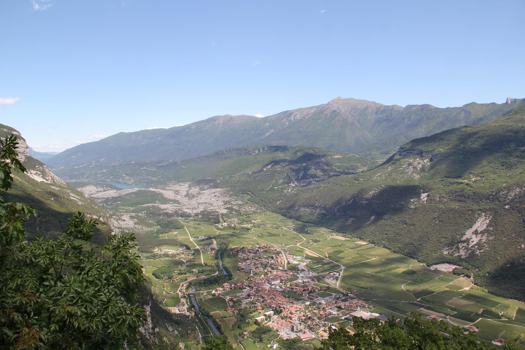 Blick auf den Lago di Cavedine