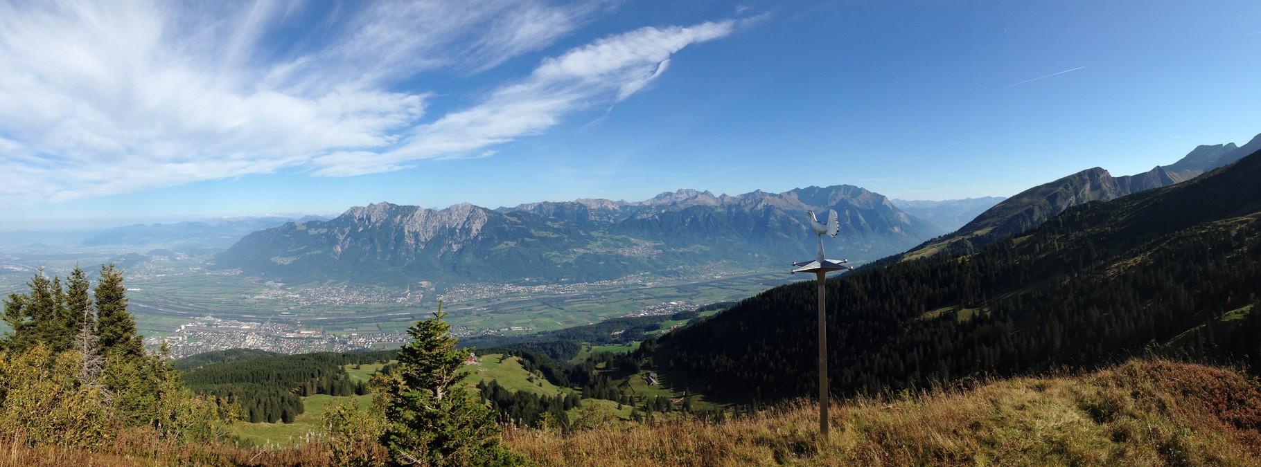 Panorama beim Uphill