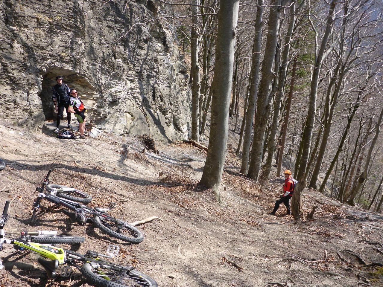 Biker bei der Löwengrube
