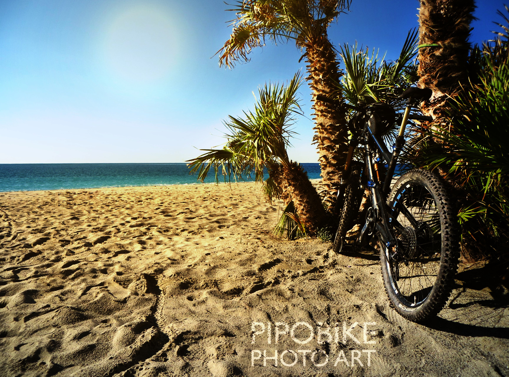Bike and Beach