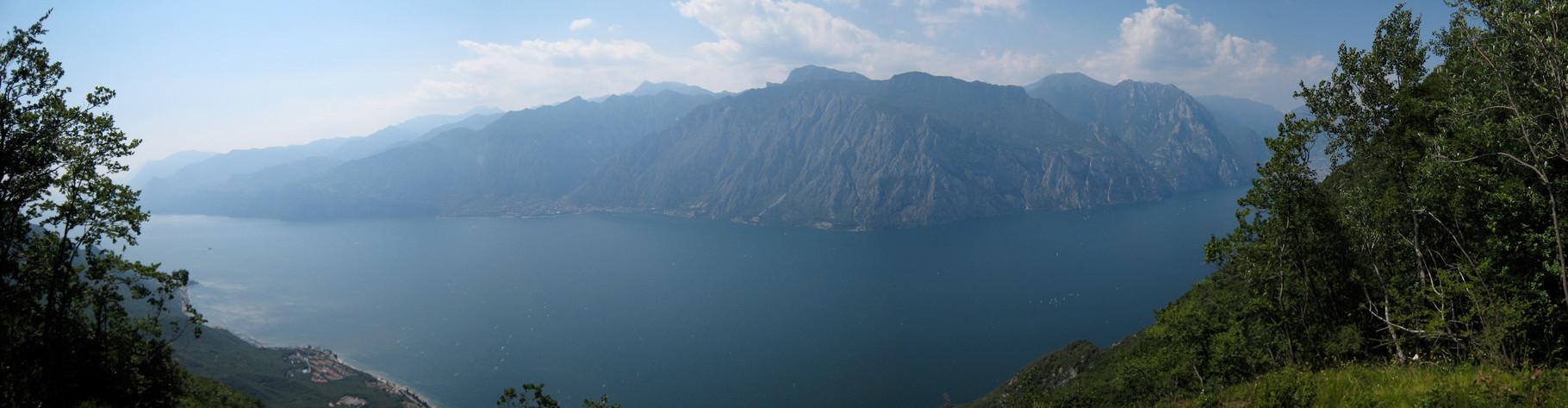 Panorama oberhalb Dosso dei Roveri