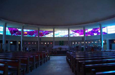 INtérieur Eglise Sainte Thérèse Brest